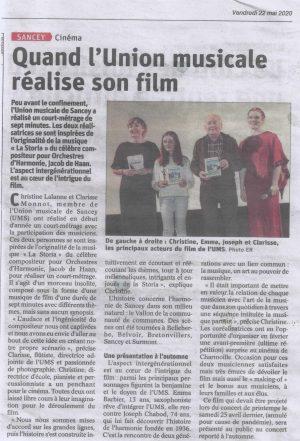 Présentation du Film La Storia à Charmoille